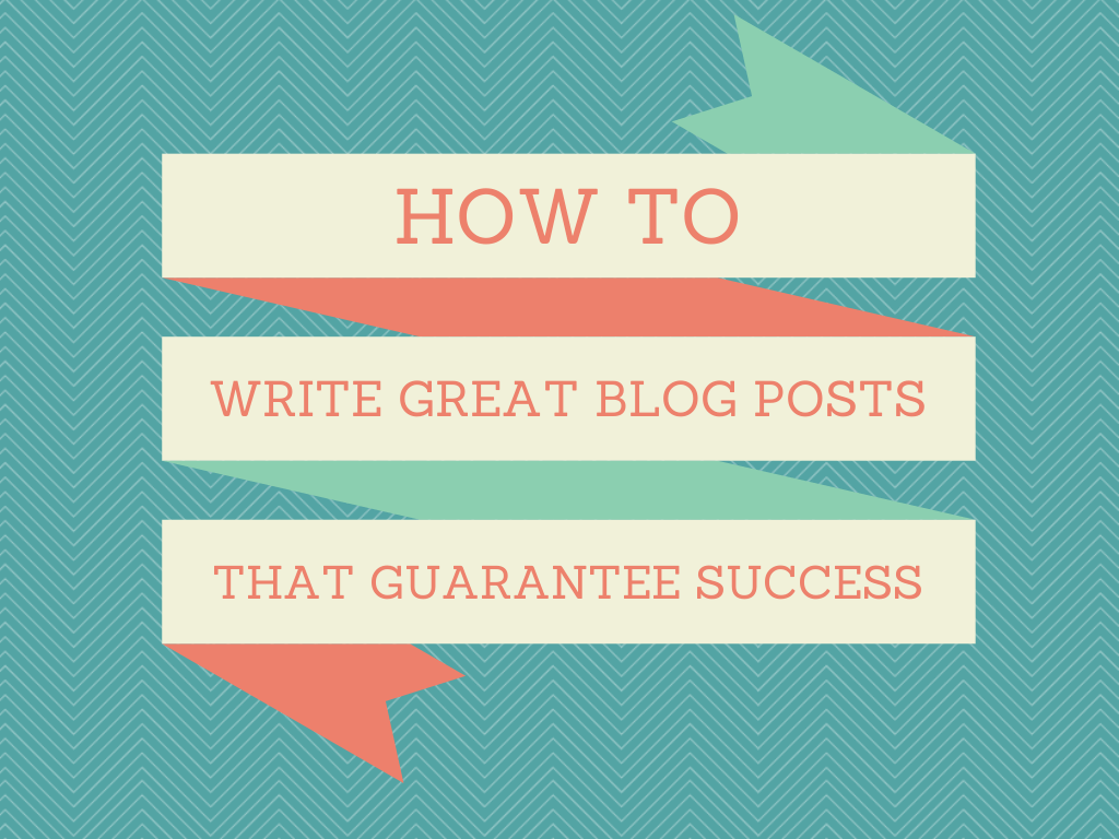 How to succeed with your blog