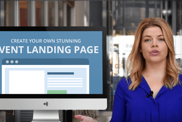 How to quickly build event landing page