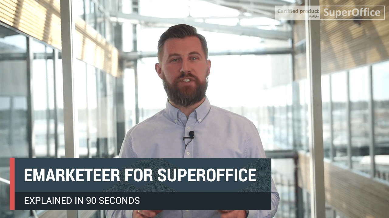 eMarketeer's CMO explains how the integration between eMarketeer and SuperOffice works.