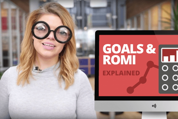 Marketing goals and romi explained