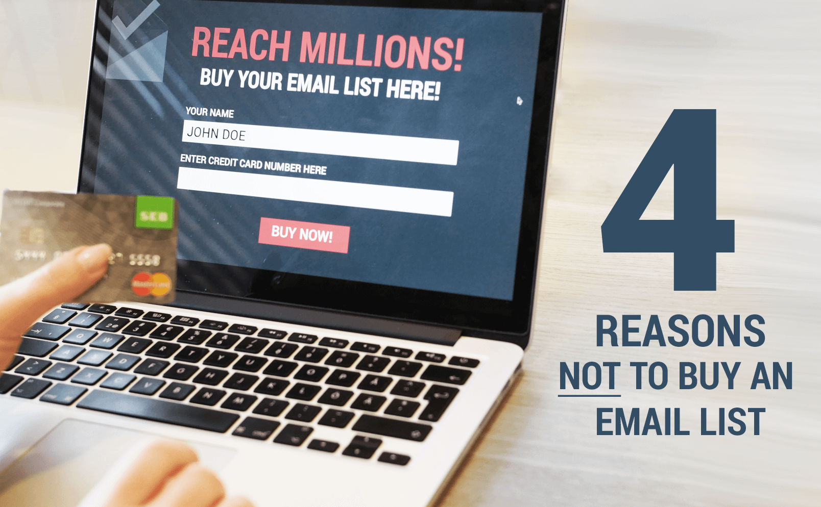 Tempted to Buy an Email List? 4 Reasons Why You Shouldn't