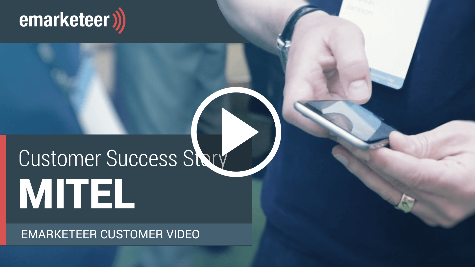 Mitel used a personalized app for their event