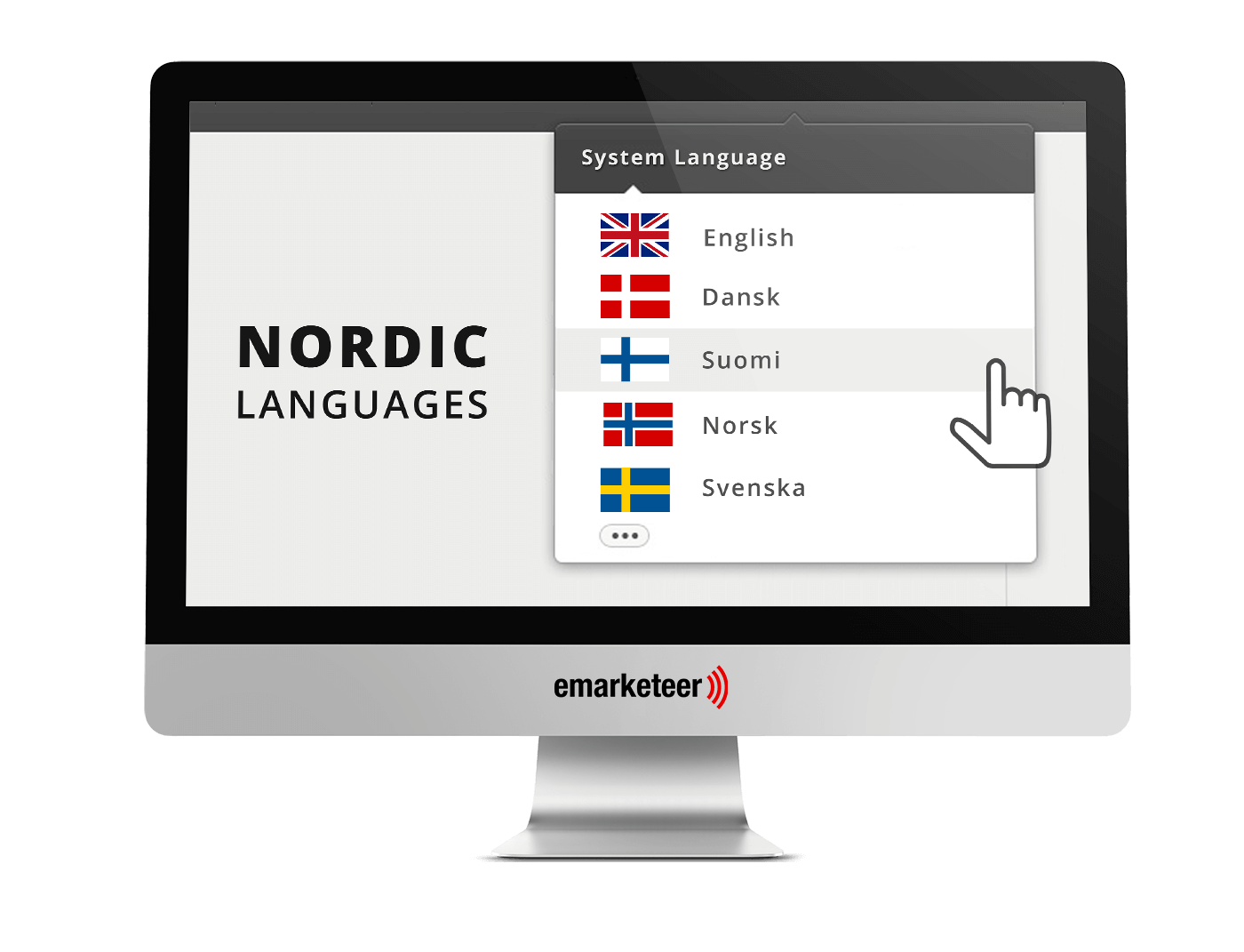 New Feature Emarketeer Nordic Language support